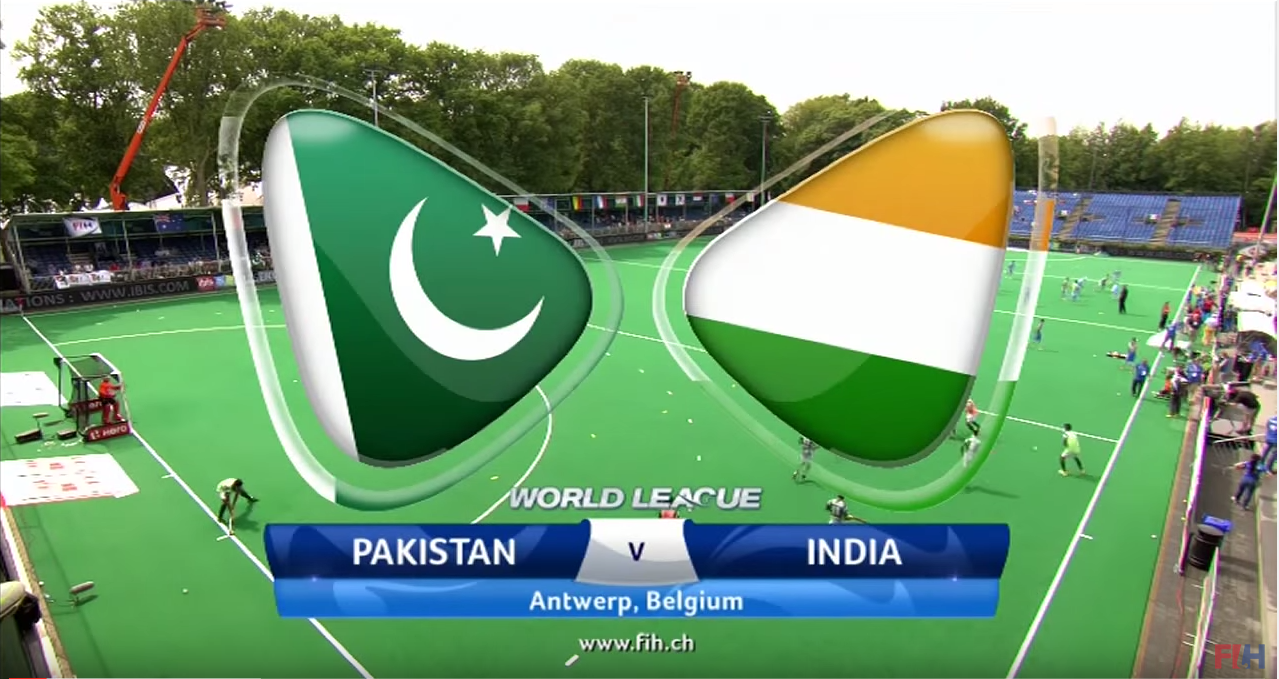 India V Pakistan – World Hockey League
