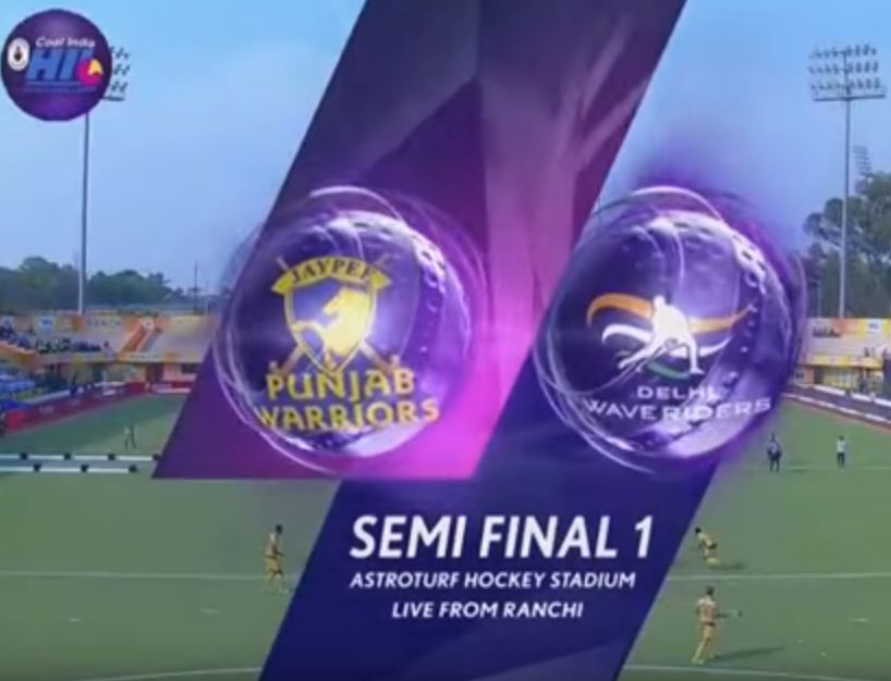Jaypee Punjab vs Delhi Waveriders-Semi Final Highlights – HIL 2016