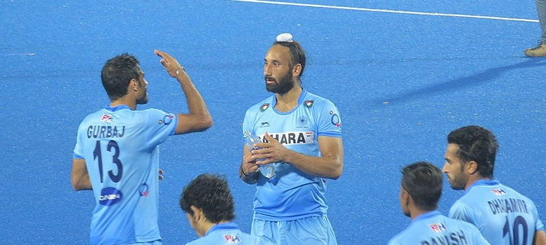 Hockey India Team loses to New Zealand