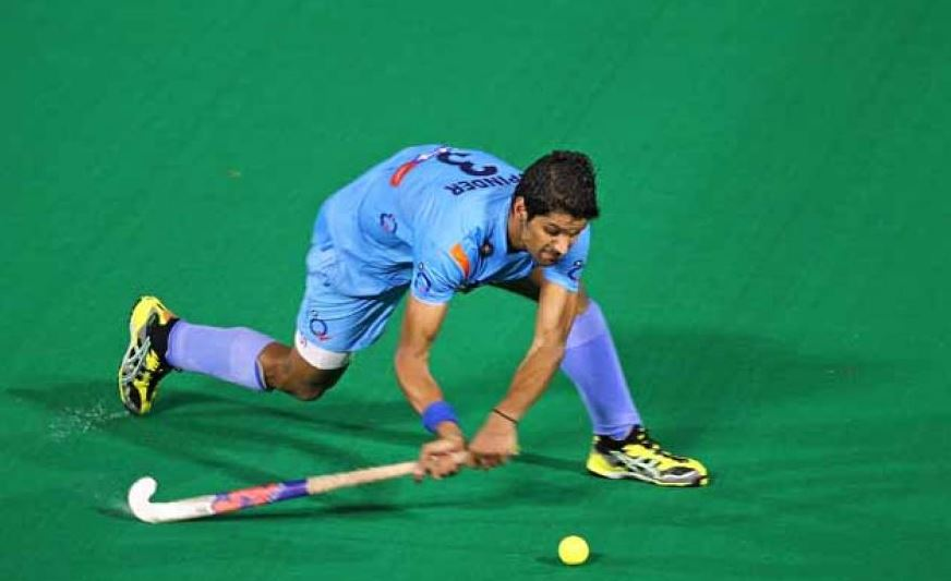 Rupinder Pal Singh Scored the only goal in the Match