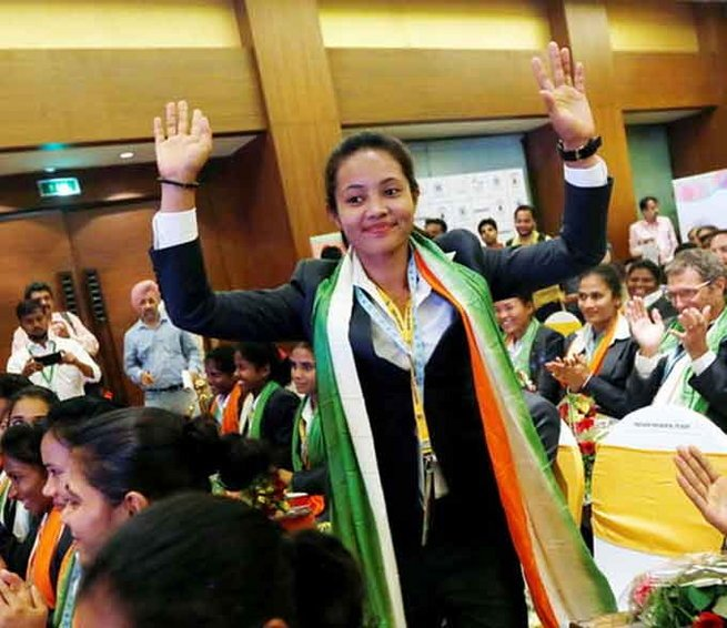 Sushila Chanu Pukhrambam will be leading the Indian Women's Hockey Team in Rio
