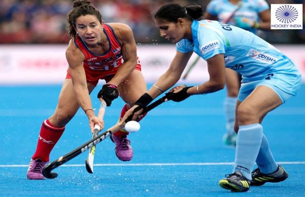 India Hold USA to Draw – India Vs USA Women Hockey