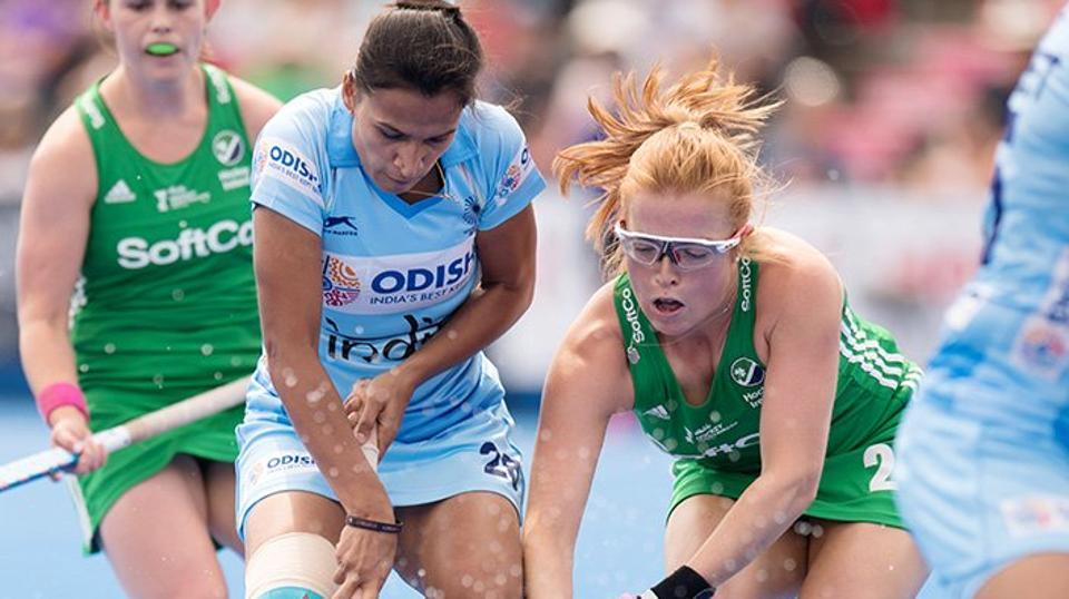Ireland beat India by 3 – 0 in Women Hockey Quarter final