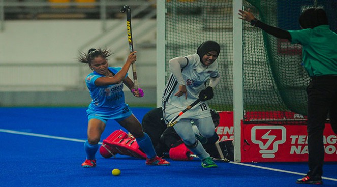 Another Win by Women Hockey Team India against Malaysia by 5-0 Score