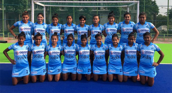 India Jr. Women Hockey Team