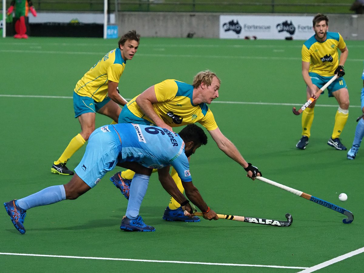 Men's Team India Faced a Second Defeat in the Australia Five Day Hockey Match Series