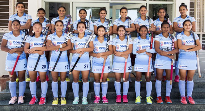 18 Member Women's Hockey Team India is Finalised for Republic Of Korea Tour 2019