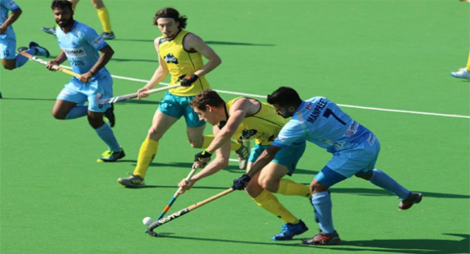 Third Match of Men's Hockey India Vs Australia Ended at a Draw