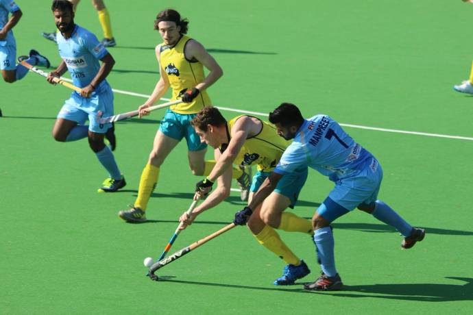India Men's Hockey Team's First Defeat in the Fourth Match of Australia Tour