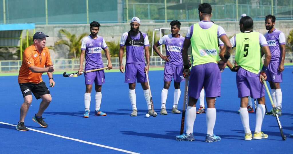"""""""We have done everything possible to reach the levels we showed during FIH Hockey Pro League in February 2020,"""" says Indian Men's Hockey Chief Coach Graham Reid"""