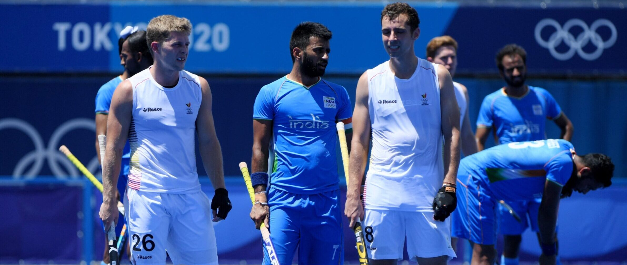 India will now race for Bronze, lost to Belgium 2-5